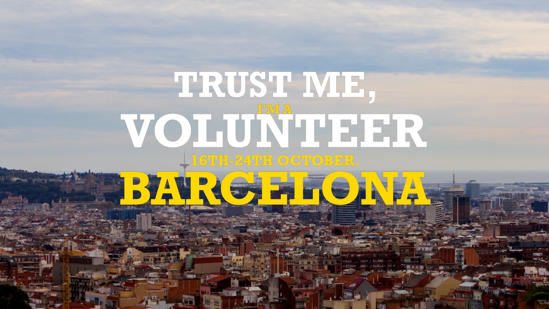 YouthBCN – Trust me, I'm a volunteer